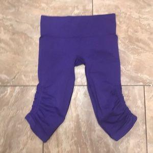 NWOT Purple Lululemon Crop Leggings